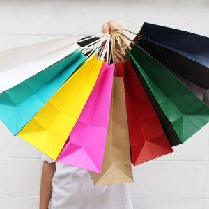 รวมถุงกระดาษคราฟท์สี-2