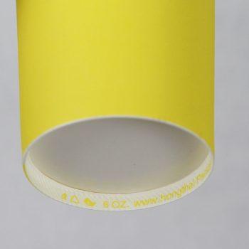 แก้วกระดาษสีเหลืองเลมอน-6-ออนซ์-2