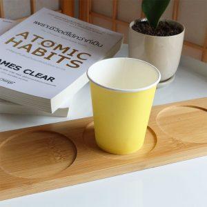 แก้วกระดาษสีเหลืองเลมอน-6-ออนซ์-4