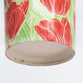แก้วกระดาษ-ลายดอกทิวลิป-16-ออนซ์-4