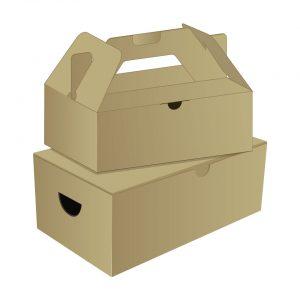 กล่องไดคัท ใส่อาหาร